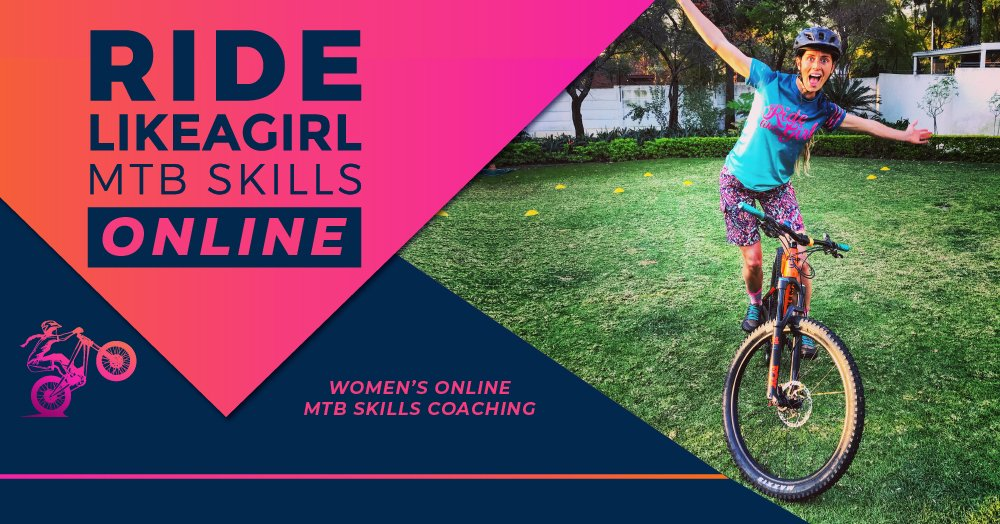 Ride Like A Girl MTB Skills ONLINE