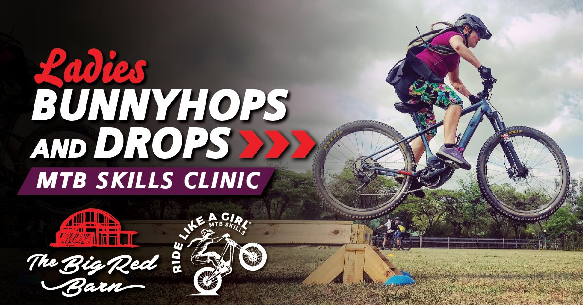 Ladies Bunnyhops & Drops MTB Skills Clinic